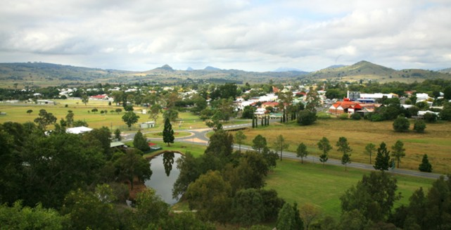 Boonah in the Scenic Rim Region