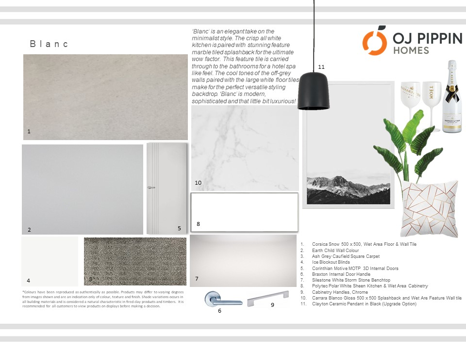 U0027Blancu0027 Is An Elegant Take On The Minimalist Style. The Crisp All White  Kitchen Is Paired With Stunning Feature Marble Tiled Splashback For The  Ultimate Wow ...