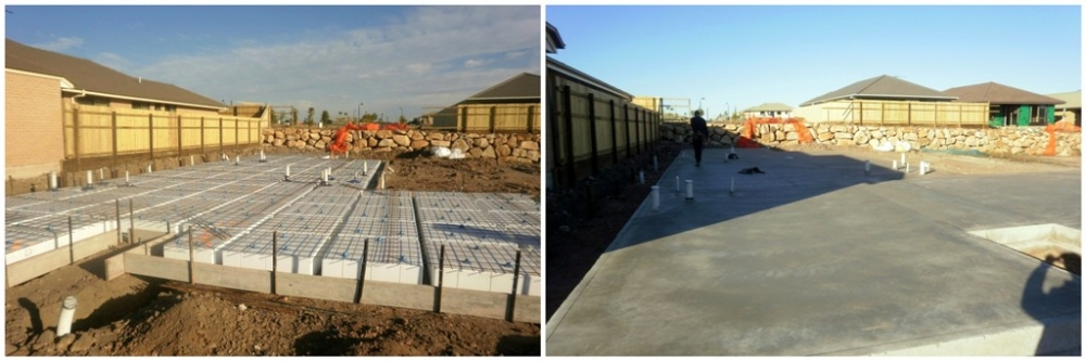 Foundation and concreting