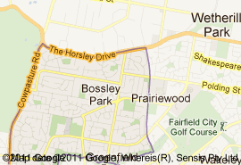 Where is bossley park