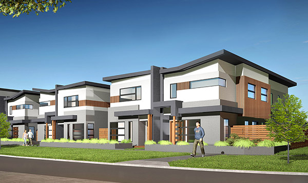 Double Storey Townhouse