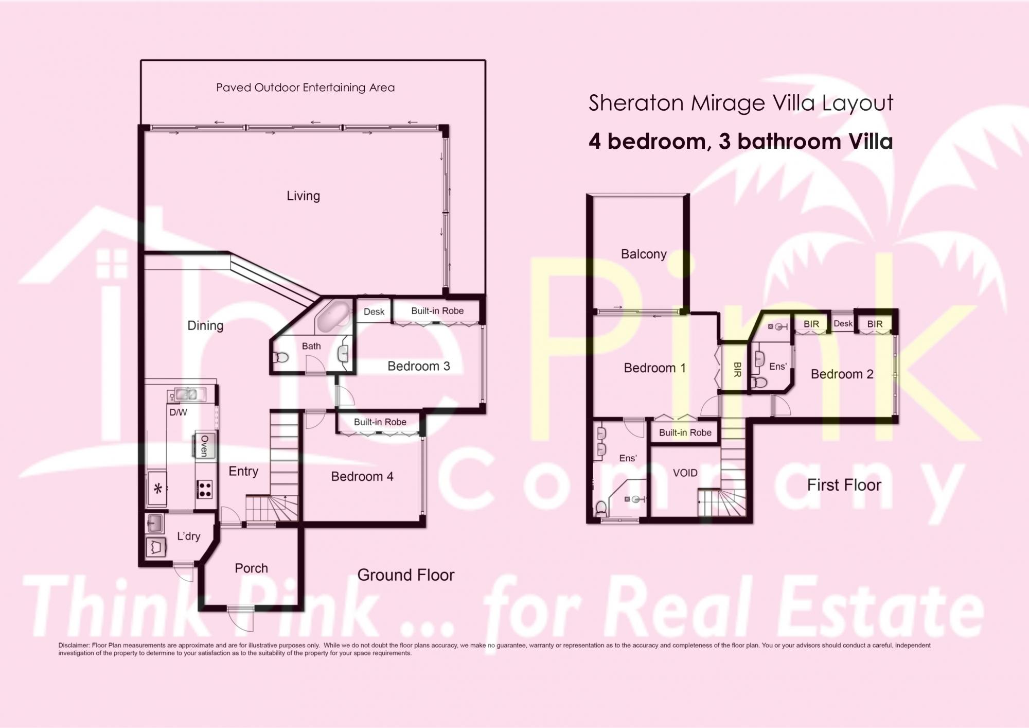 Real estate agents port douglas australia mirage villas for Real estate floor plans software