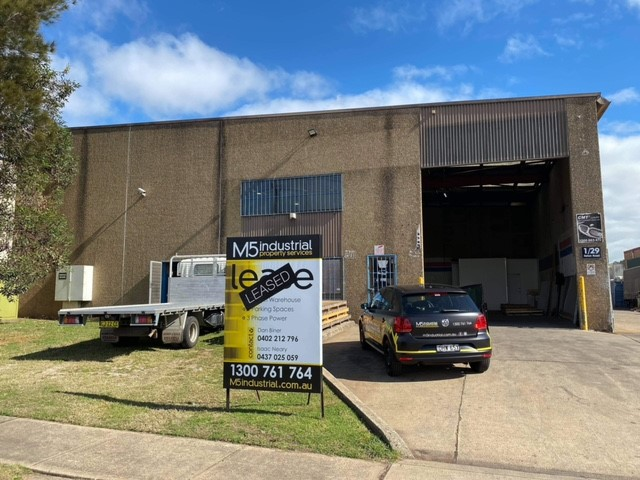 M5 Industrial Property Services Leased Property